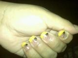 Yellow Tip/ Black Lines