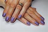 Custom made purple