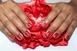 Red flower design