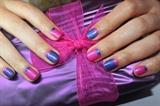 Pink purple design