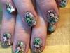 Nails With Cracked Polish