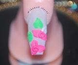 3D bridal nails