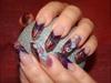 Glitter Gel Edge Nails