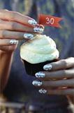 Pearl Anniversary Nails
