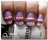 Ruffle Nail Art