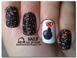 Glitter Bomb Nails