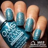Swirl Nail Art