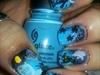 Spooky Night nails