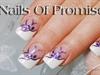 Purple Paradise Live Nail Art Tutorial