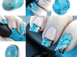 nail art: Turquoise Stone