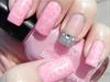 Princess Nails w/ Ghost Hearts