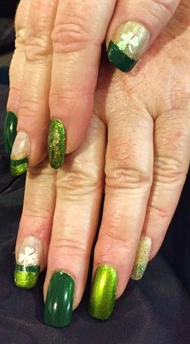 Irish Girl nails