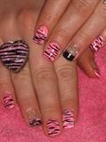 Pink zebra style