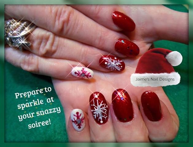 Sparkling Soiree Snowflakes