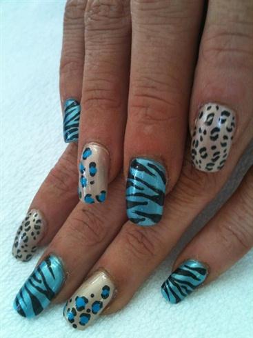 Zebra Print and Cheetah