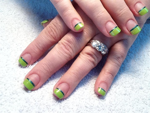 Lime Green Bliss