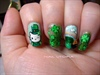 st. patty's day with hello kitty