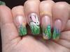 Bunny & Eggs Hiding in Grass
