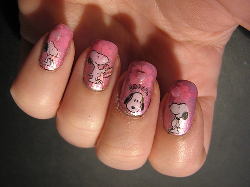 Snoopy nails - Snoopy Nails - Nail Art Gallery