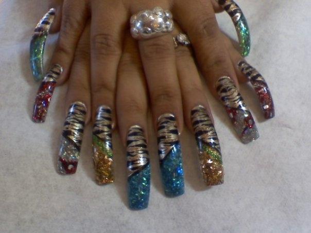 - EXOTIC TIGER - Nail Art Gallery