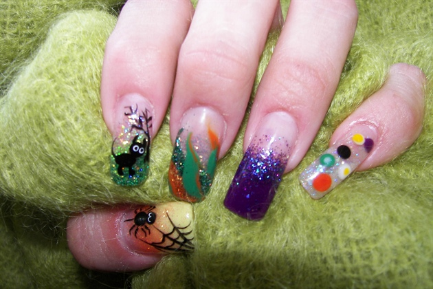 My Hands Getting ready for Halloween..