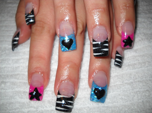 nikki's Rock star Nails by Janya*