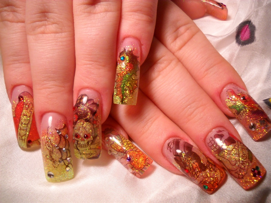 Ed Hardy :Nails by Janya* - Nail Art Gallery