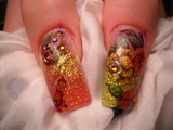 Thumbs to the Ed Hardy Nails by Janya