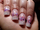 purple starry french