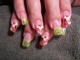 daisy's 2 nails by janya