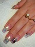 Mylar Ice French Nails by Janya