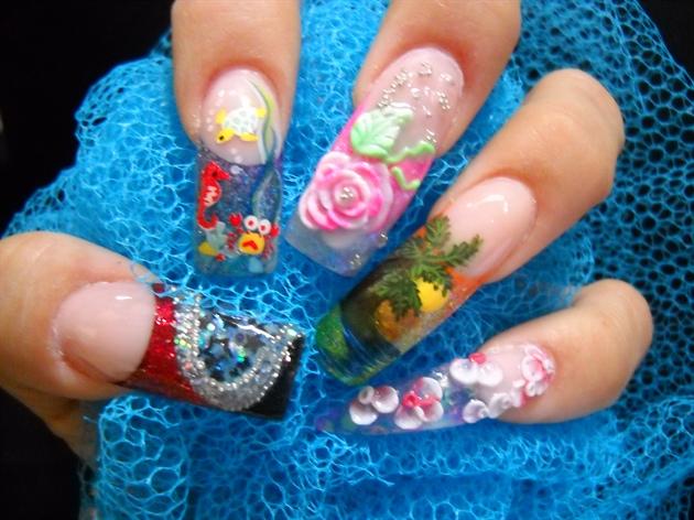 My Nails 4 the Orlando premiereshow 2010