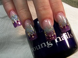 romantic nails by Janya