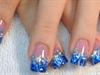 Ocean Waves Nails by janya