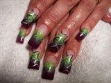 In honor of Briza  nails by Janya