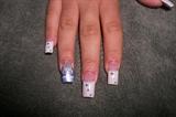 Sweet 15 Princess nails by janya