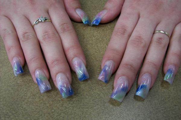 Dreaming nails by janya