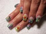 Fimo art nails by janya