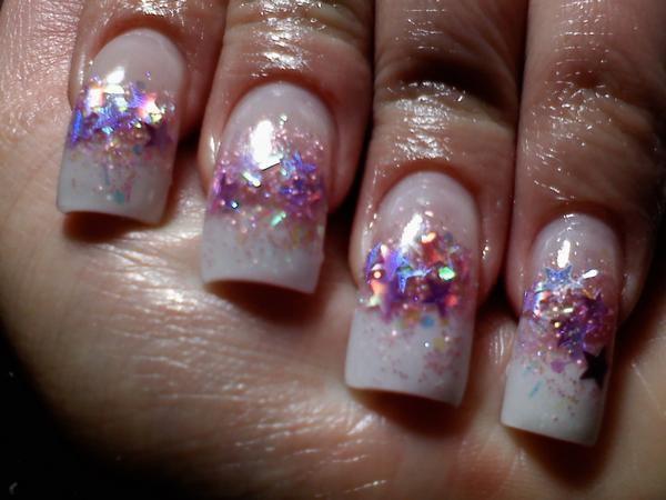 Stary nite Nails by Janya