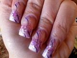 Purplerain Nails by Janya