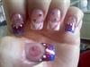 Baseball Nails by Janya