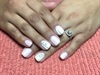 White & Pink Matte
