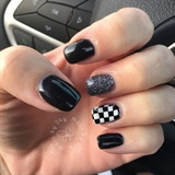 Indy 500 Nails