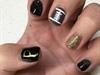 Purdue Football Nails