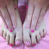 Pink Floral Set