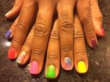 Summer Fun With Rainbows & Glitter