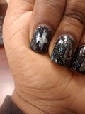 negative space galaxy nails