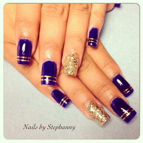 Royal Blue - Royal Blue - Nail Art Gallery
