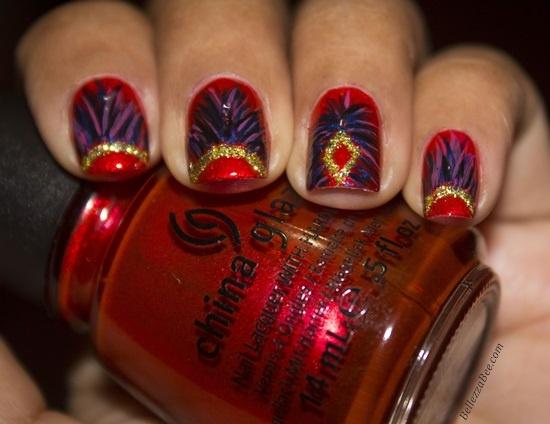 Carnival Nails Nail Art Gallery