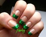 Green Foil Tips